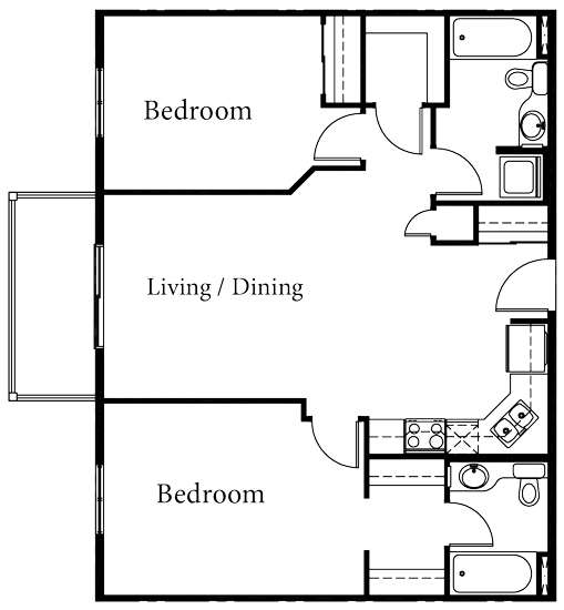 Aurora - 2 Bedroom - Starting at $200,000