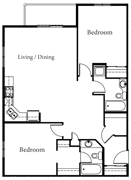 Celeste - 2 Bedroom - Starting at $235,000