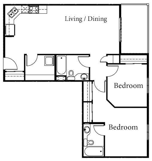 Polaris - 2 Bedroom - Starting at $205,000