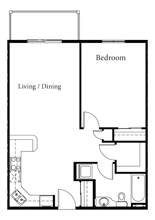 Serene - 1 Bedroom - Starting at $180,000