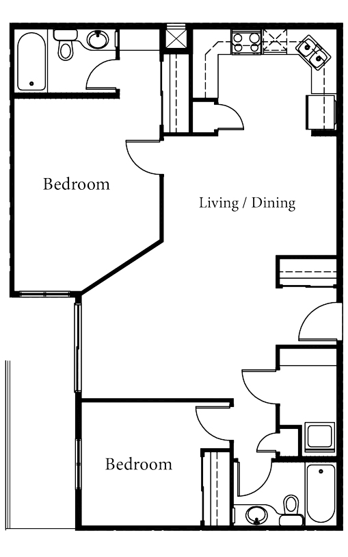Talia - 2 Bedroom - Starting at $210,000